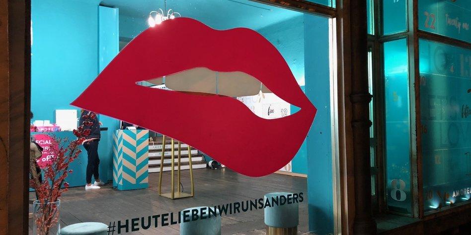Beate Uhse Weihnachtskalender.Gentrifizierung In Berlin Pop Up Erotik Statt Bioladen Taz De