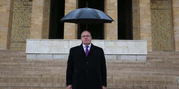 Peter Altmaier während seinem Besuch in der Türkei