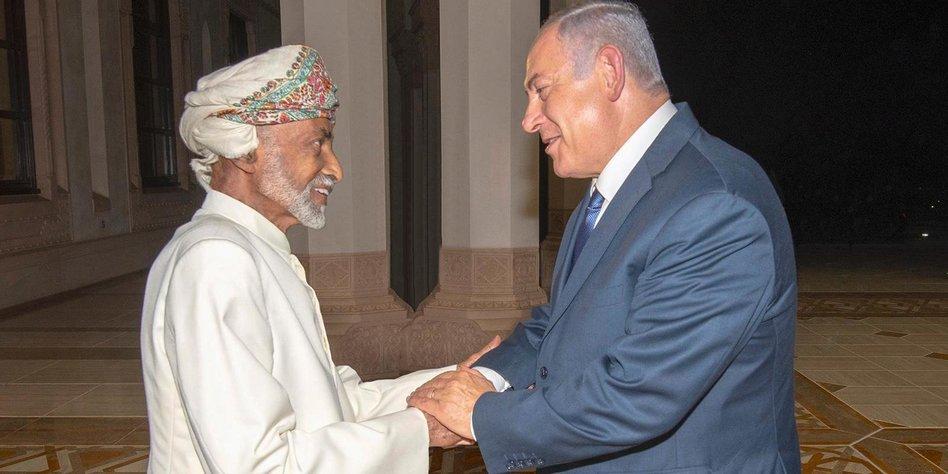 Israel und arabische Staaten: Oman erkennt Israel demonstrativ an
