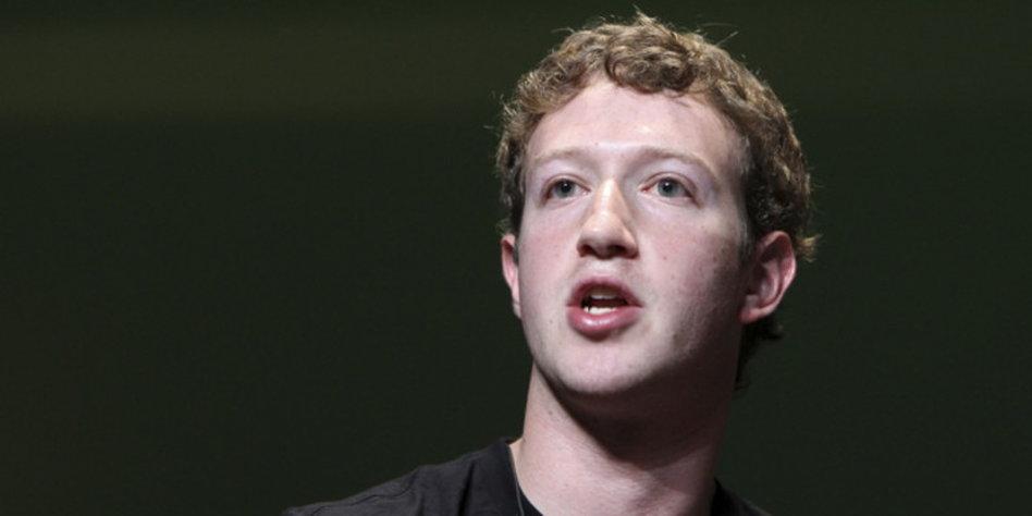 Bislang herrscht er allein im Reiche Facebook: Gründer Marc Zuckerberg.