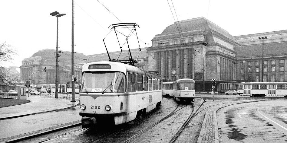 Bahnhof leipzig 1988