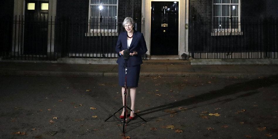 Stürzt Mays Regierung?:Brexit-Hardliner plant Misstrauensvotum