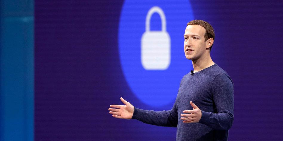 Mark zuckerberg facebook entwicklerkonferenz