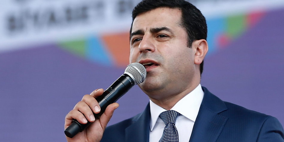 Urteil zum inhaftierten Kurdenpolitiker: Türkei soll Demirtaş entlassen