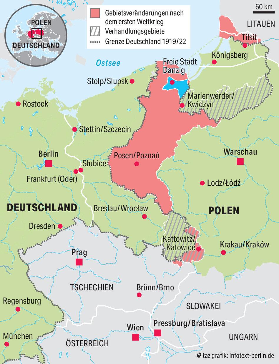 Deutschland Und Polen Nach 1918 Die Blutende Grenze Taz De