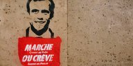 Anti-Macron-Graffiti
