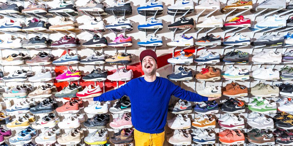 265e80615365c9 Die Geschichte des Turnschuhs  So wird ein Sneaker draus - taz.de