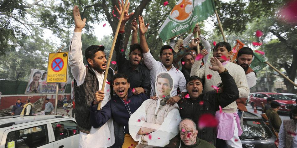 Ergebnis der Regionalwahlen in Indien: Schlappe für die Hindunationalisten
