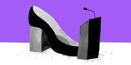 Frauen im Politikjournalismus: Unter Anzugjungs