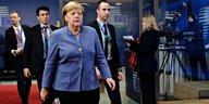 EU-Gipfel in Brüssel: Mit Schirm und ohne Charme