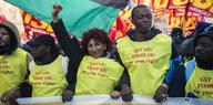 Flüchtlingspolitik in Italien: Demo für offene Gesellschaft