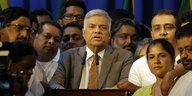 Sri Lankas Machtkampf ist entschieden: Wickremesinghe ist wieder Premier