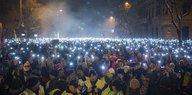 """Proteste in Ungarn: Aufstand gegen """"Sklavengesetz"""""""