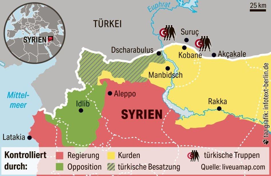 Russisch Turkische Syrien Politik Enttauschung Fur Erdogan Taz De