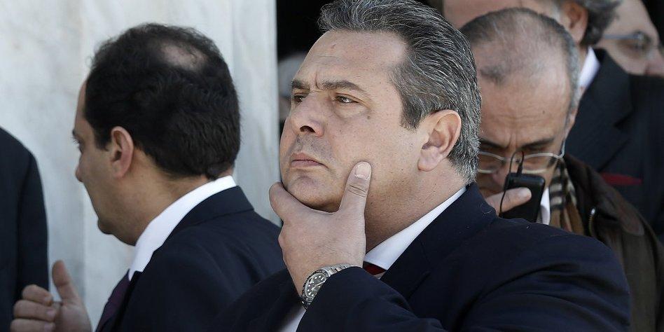 Regierungskrise in Griechenland nach Rücktritt des Verteidigungsministers