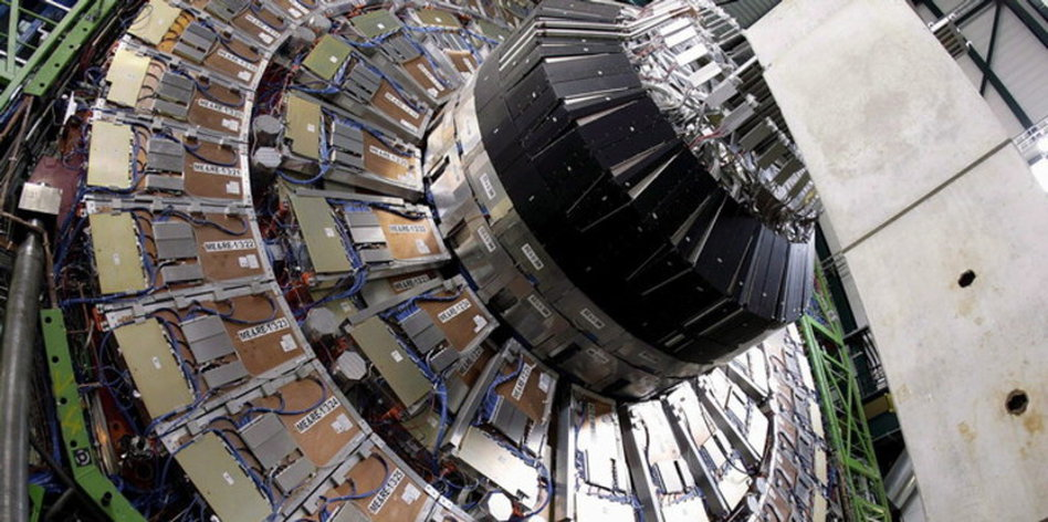 Teilchenbeschleuniger Schwarzes Loch