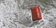 Verlorene Container der MSC Zoe: Die Zeit drängt für das Wattenmeer