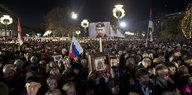 Kommentar Putin-Besuch in Serbien: Demonstration von Macht und Liebe