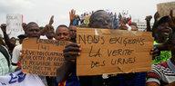 Wahlen im Kongo: Afrika fordert einen Ergebnisstopp