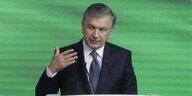 Usbekischer Präsident in Deutschland: Die innere und die äußere Freiheit