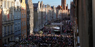 Eine Stadt gedenkt ihres Bürgermeisters: Danzig gegen den Hass