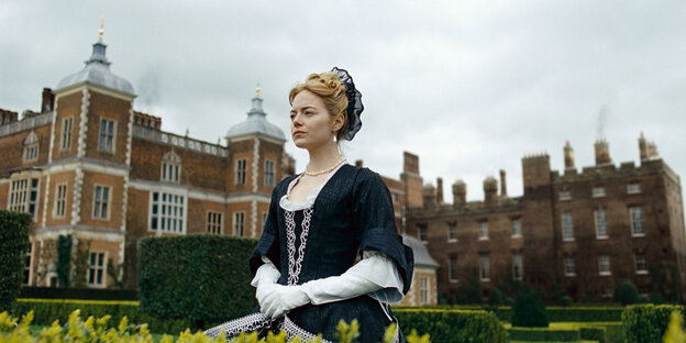"Emma Stone im Film ""The Favourite"""