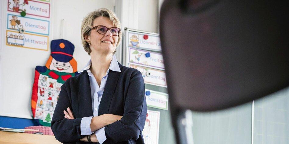 Wissenschaftsministerin Anja Karliczek Die überraschung Im