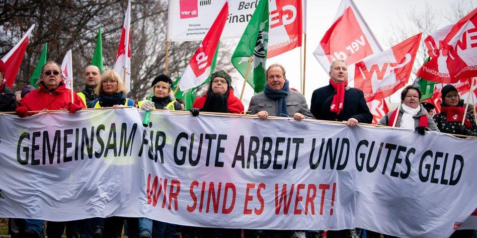 verdi streik berlin