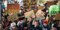 Schülerdemos für das Klima: Hüpfen gegen die Kohle