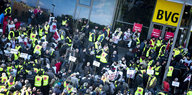 Tarifkonflikt bei der BVG: Berlin im Bummelstreik