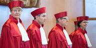 Nebeneinkünfte von Verfassungsrichtern: Selbstverordnete Offenheit