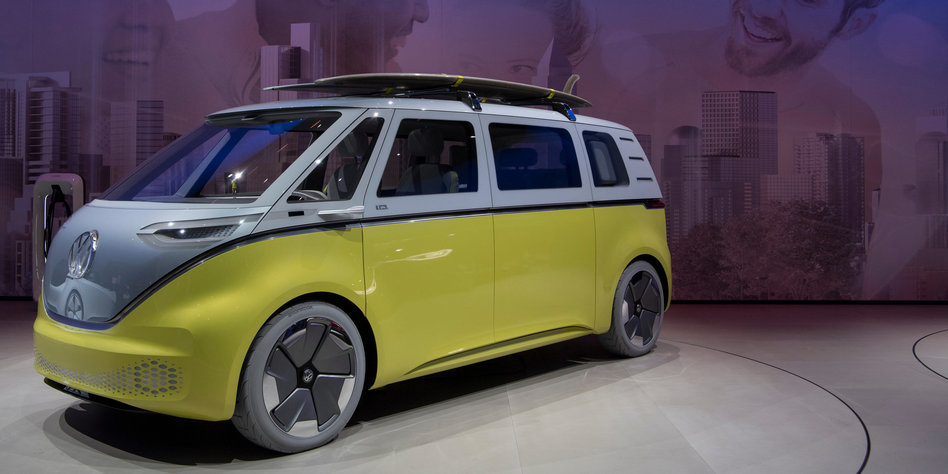 gebeutelter vw konzern stellt e auto vor mehr klima wagen. Black Bedroom Furniture Sets. Home Design Ideas