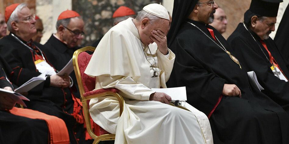 Missbrauch In Der Katholischen Kirche Papst Verspricht Ende