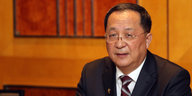 Nordkoreas Außenminister Ri Yong Ho