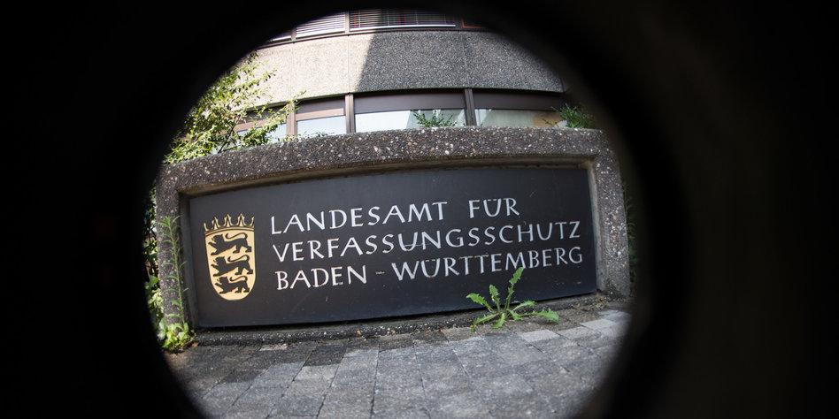 Landesamt fuer verfassungsschutz baden wuerttemberg