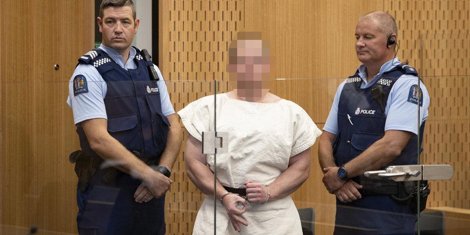 """Neuseeland Terror Detail: Rechtsextremer Terror In Neuseeland: """"Ich Bin Ein Monster"""