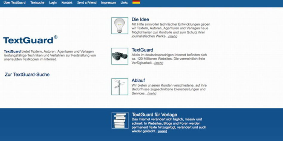 Urheberrecht Im Internet Spezialisiert Auf Textdieb Jagd Tazde