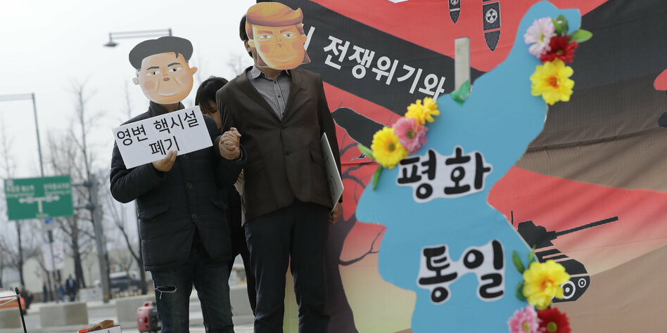 Kim Jong Un ist auf dem Rückzug