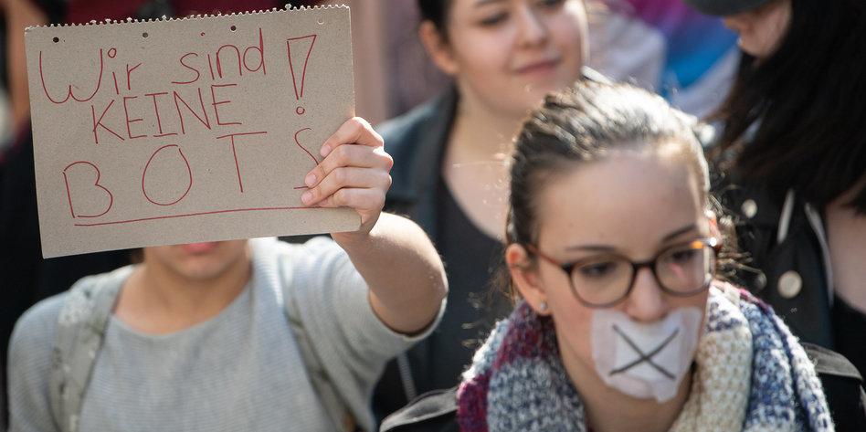 CDU diffamiert Demonstranten