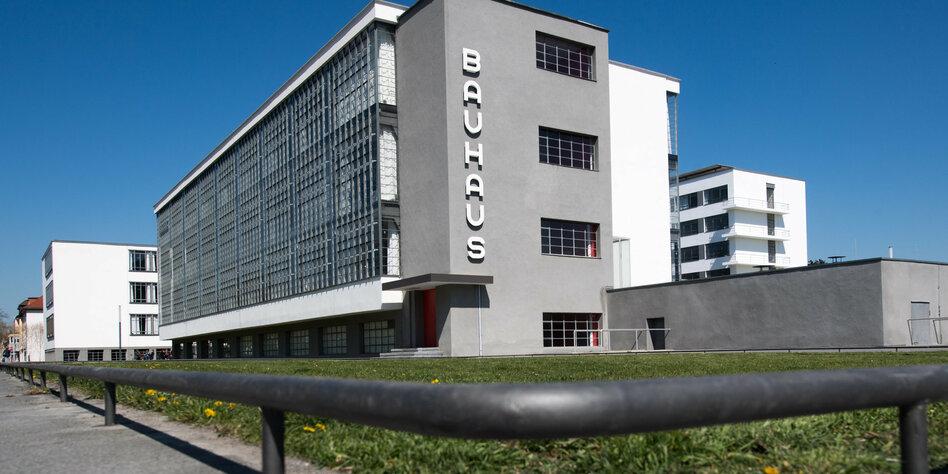 Essay Zum 100 Bauhaus Jubiläum Bau Der Zukunft Tazde