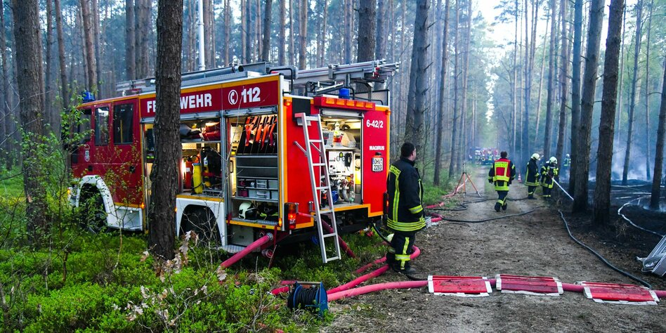Brandgefährlich: Frühling in Berlin