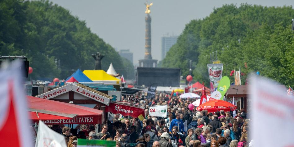 Mehr Buden, wenig Volksfest