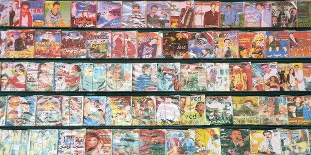 Viele CD-Hüllen