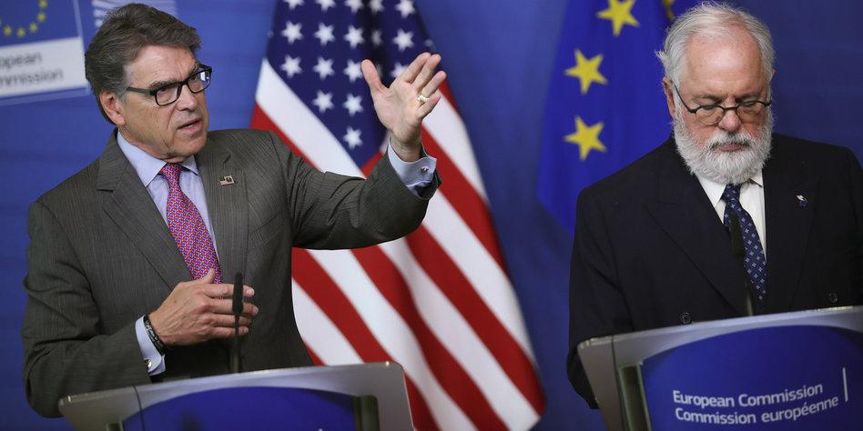 USA verkaufen der EU viel mehr Flüssiggas