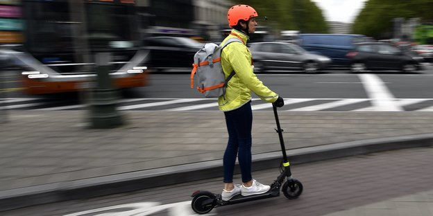 E-Scooter in Brüssel