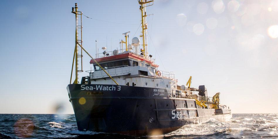 Italien: Sea-Watch rettet trotz Blockade-Drohung von Salvini 65 Migranten