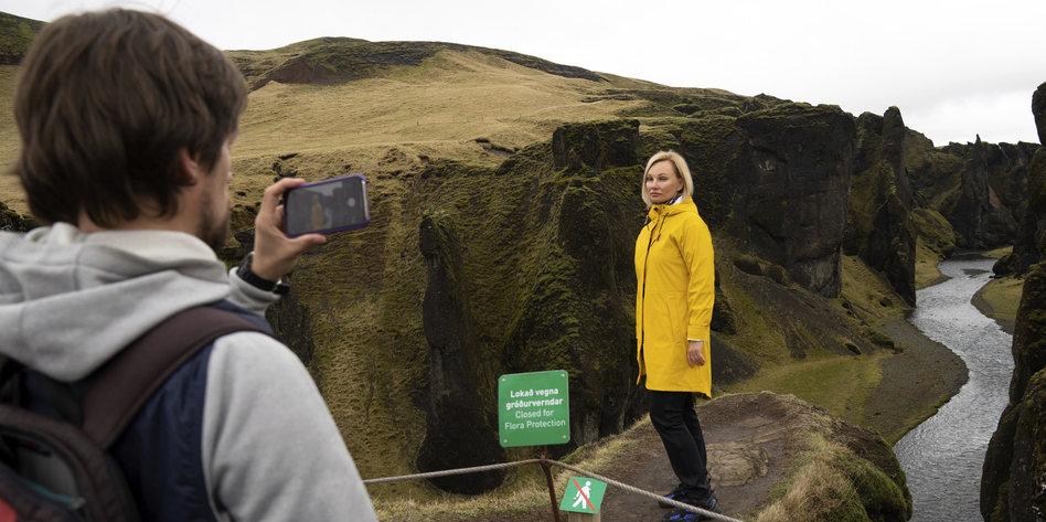 Island überrannt von Bieber-Fans