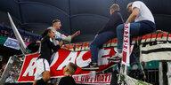 RB Leipzig beim DFB-Pokalfinale: Aus der Brause kommt das Bunte
