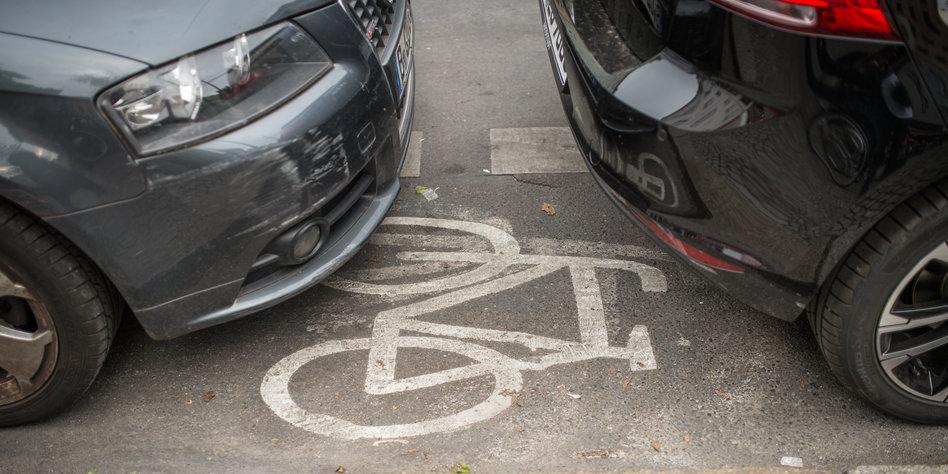 Fast erwischt Parkplatz