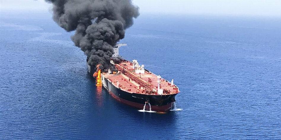Tanker-Attacken am Golf: Seeleute verlassen den Iran - neue Schuldzuweisungen